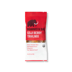 Raw Sprouted Protein Bar - Goji Berry Trailmix (10-pack)