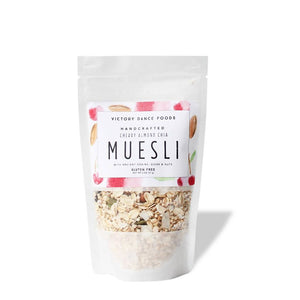 Cherry Almond Chia Muesli