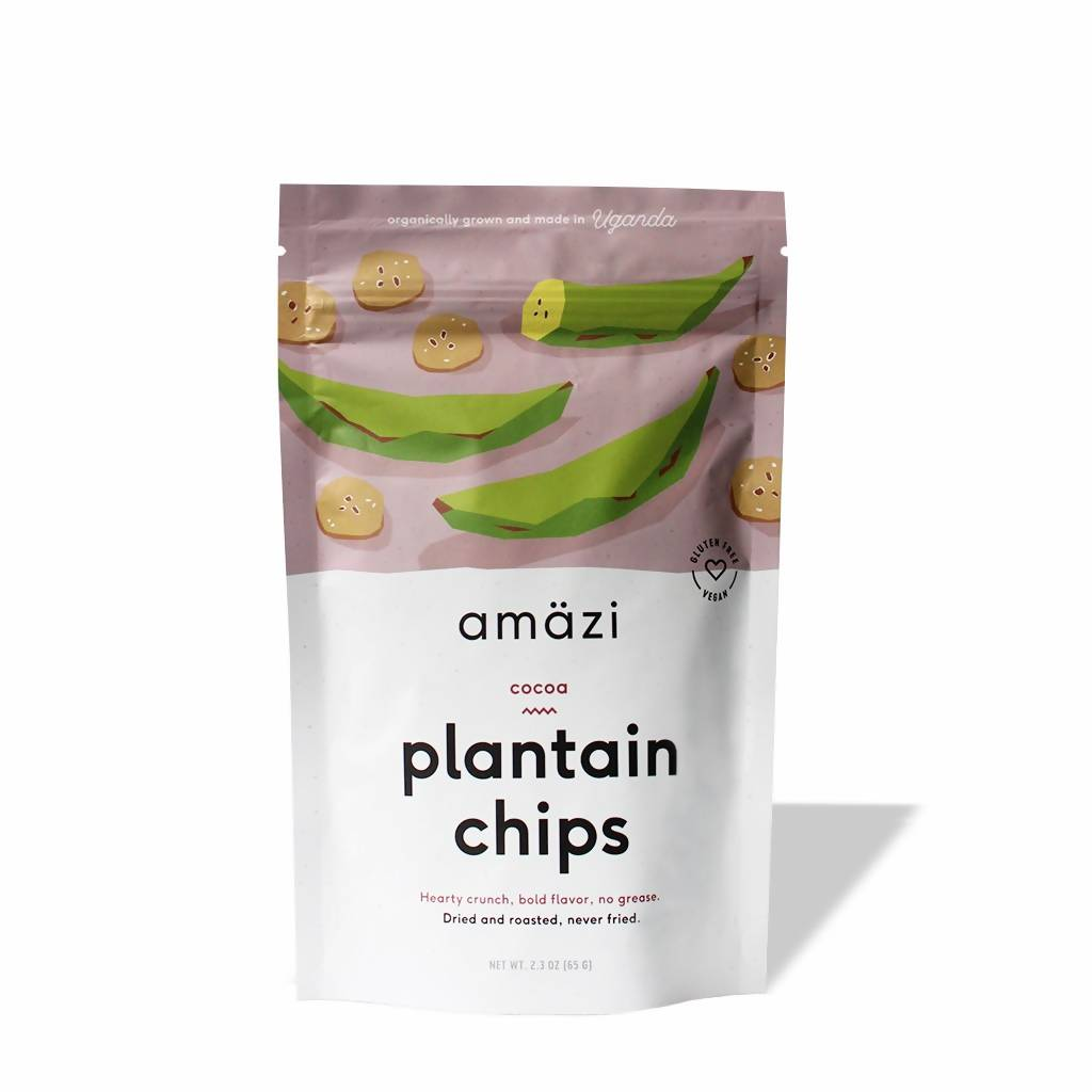 Cocoa Plantain Chips (6-pack)