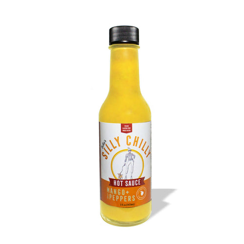Fresh Mango & Sweet Pepper Hot Sauce (pack)