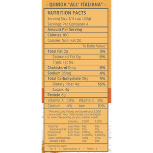 Quinoa All'Italiana Mix (6 oz)