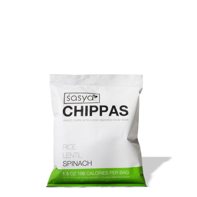 Lentil Rice Spinach Chips (6-pack)