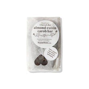 Almond Raisin Carob Bar (pack)