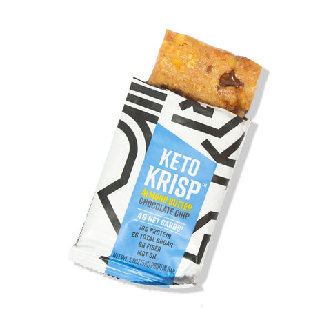 Almond Butter Chocolate Chip Bars (12-pack)