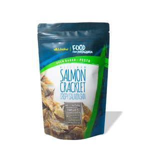 Pesto Crispy Salmon Cracklet (4-pack)