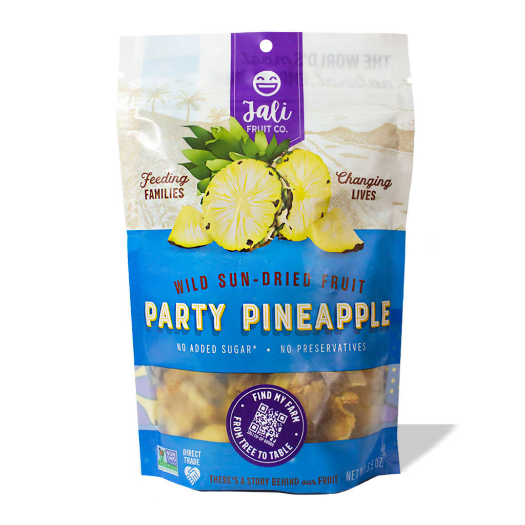 Party Pineapple Sun-Dried Fruit (6-pack)
