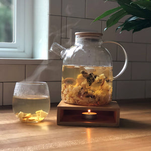 Edible Fruit Tea - Ginger Unwind