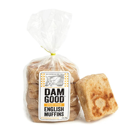 """Whole Wheat"" Sourdough English Muffins (3-pack)"