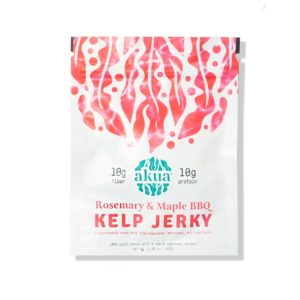 Rosemary & Maple Barbecue Kelp Jerky (pack)