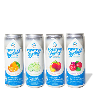 Positive H2O Variety Pack (24-pack)