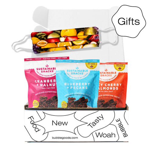 Superfood Swag Bundle (Variety 3-Pack + Fruits & Nuts Mask)