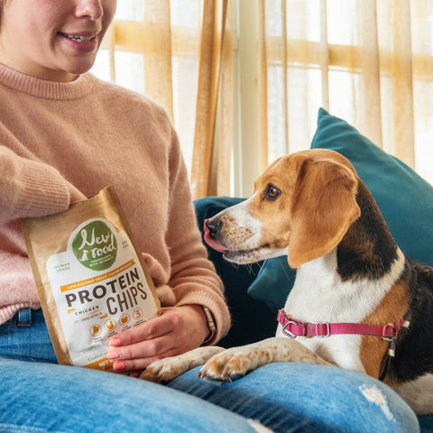 Dog - Protein Chips with Chicken and Organic Coconut Oil (pack) (Puppy-Adult)