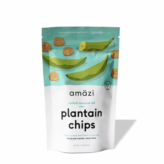 Salted Coconut Oil Plantain Chips (3-pack)