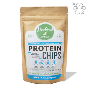 Pet Protein Chips: Wild-Caught Whitefish with Organic Coconut Oil (pack)
