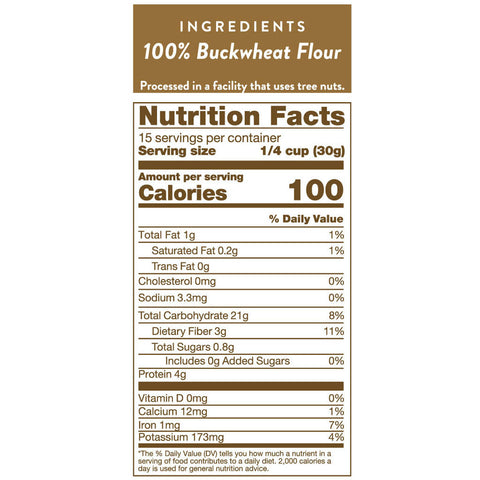 Buckwheat Flour (16 oz)