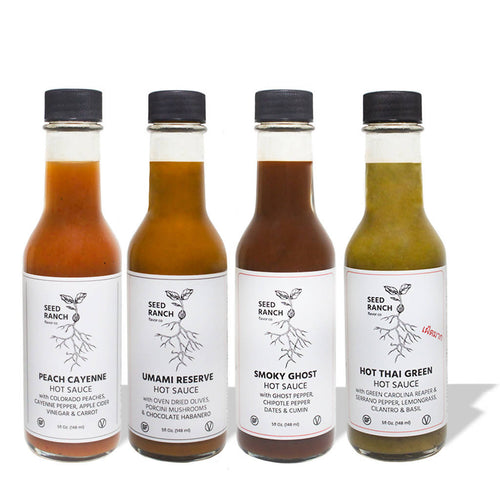 Medium to Hot - Hot Sauce Bundle (4-pack)