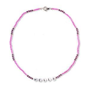 BUBBLE x WYS: Hella Necklace