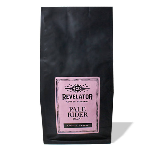 Whole Bean Pale Rider Blend Decaf Coffee