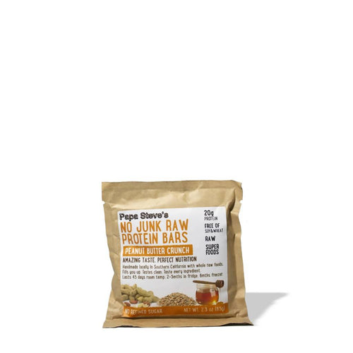 Peanut Honey Whey Protein Bar (10-Pack)