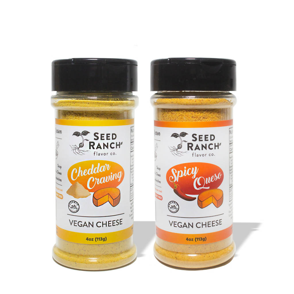 Vegan Cheese Seasoning Variety Bundle (2-pack)