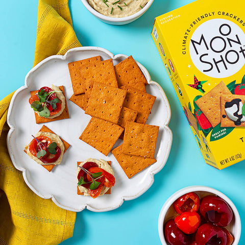 Climate-Friendly Tomato Basil Crackers (pack)