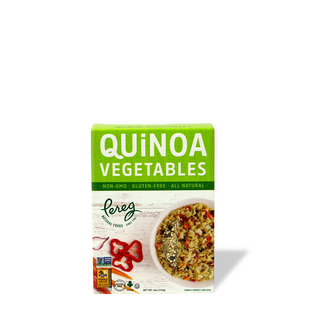 Quinoa with Assorted Vegetable Mix (6 oz)