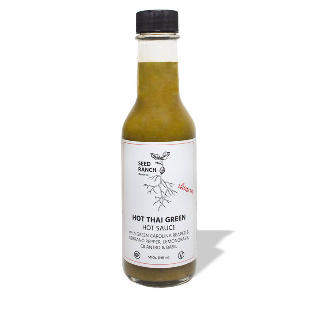Hot Thai Green Hot Sauce (pack)