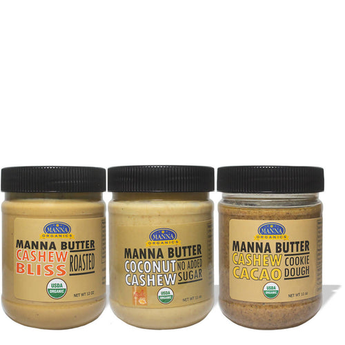 Cashew Lover's Delight Nut Butter Bundle (3-pack)