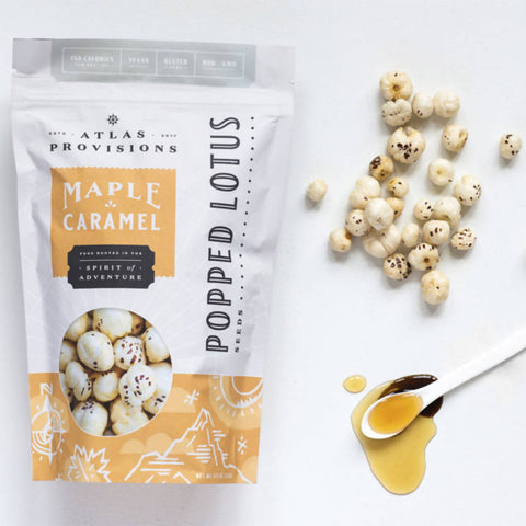 Maple Caramel Popped Lotus Seeds (1-Pack)