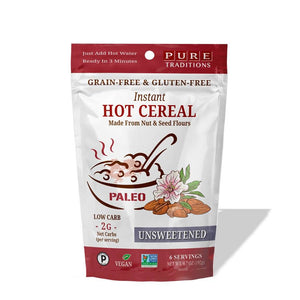 Unsweetened Instant Hot Cereal