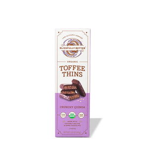 Toffee Thins with Crunchy Quinoa (pack)