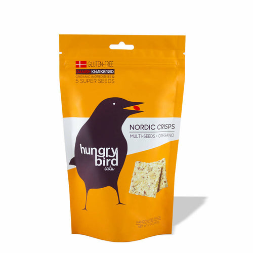 Nordic Crisps (3-pack) - Multi-Seeds + Oregano
