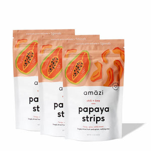 Chili Lime Papaya Strips (3-Pack)
