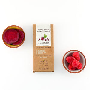 Raspberry Beetroot Infusion Dark Chocolate Bar