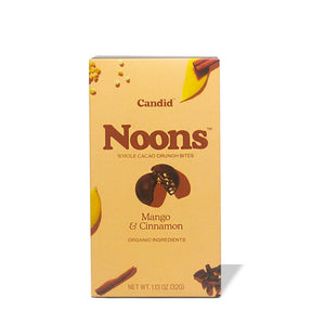 Noons Mango & Cinnamon Whole Cacao Crunch Bites