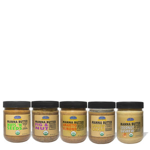 Manna Nut Butters Variety Pack (5-pack)
