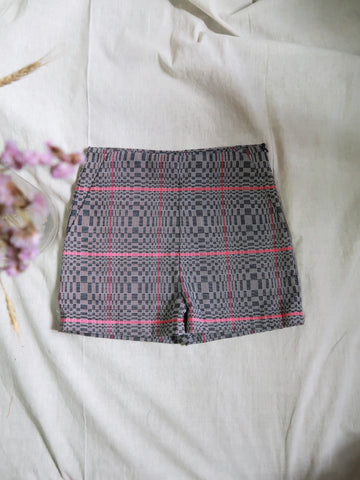 ADELA shorts and sheer culottes