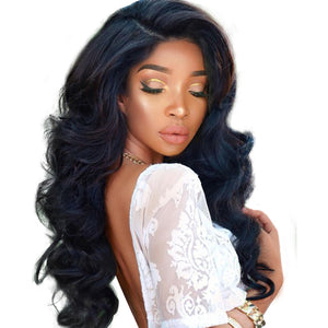 250% Density Lace Front Human Hair Wigs For Black Women With Baby Hair Pre Plucked Brazilian Body Wave Wig Remy You May Hair - Brush 'n Polish