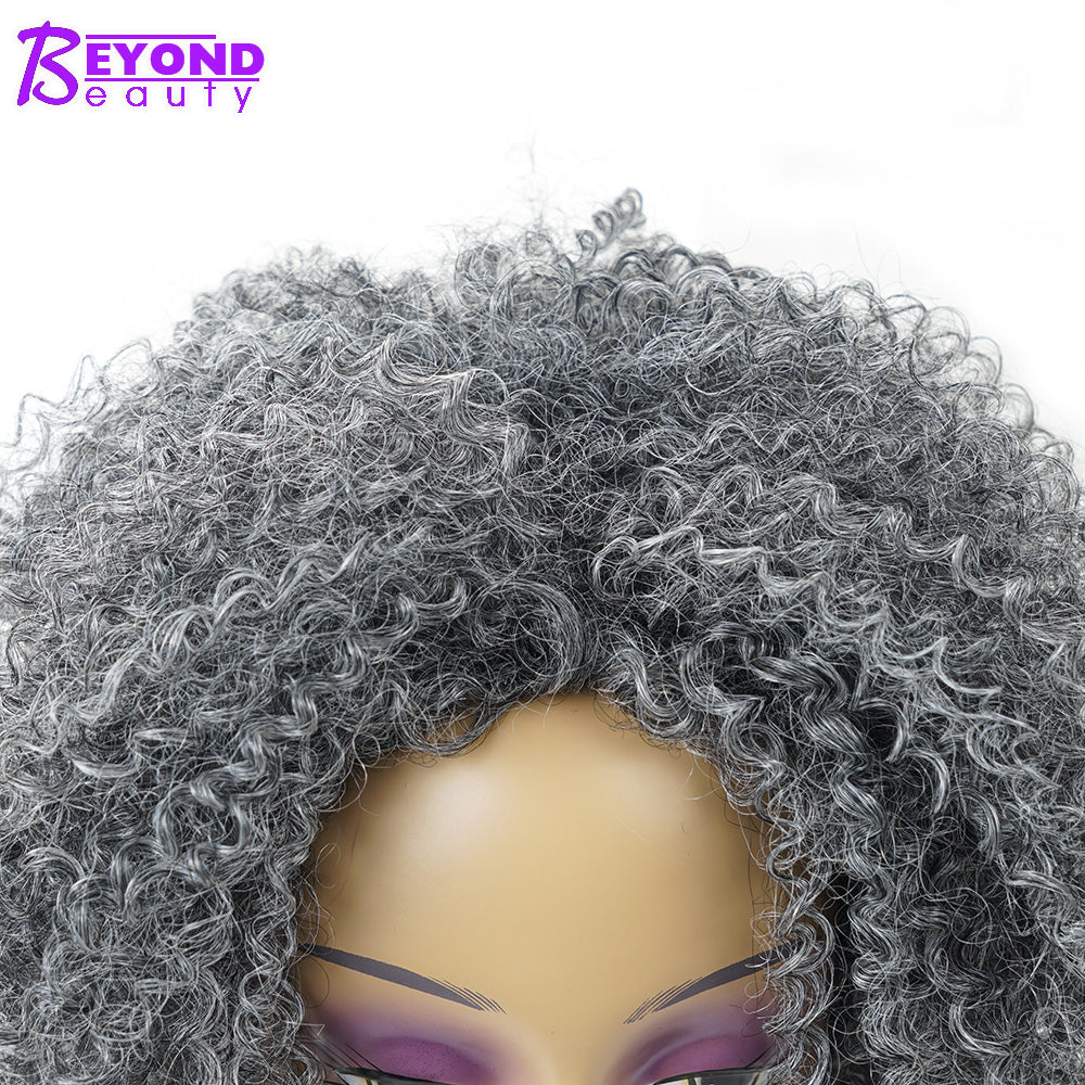 Beyond Beauty Synthetic Short Synthetic Afro Kinky Curly
