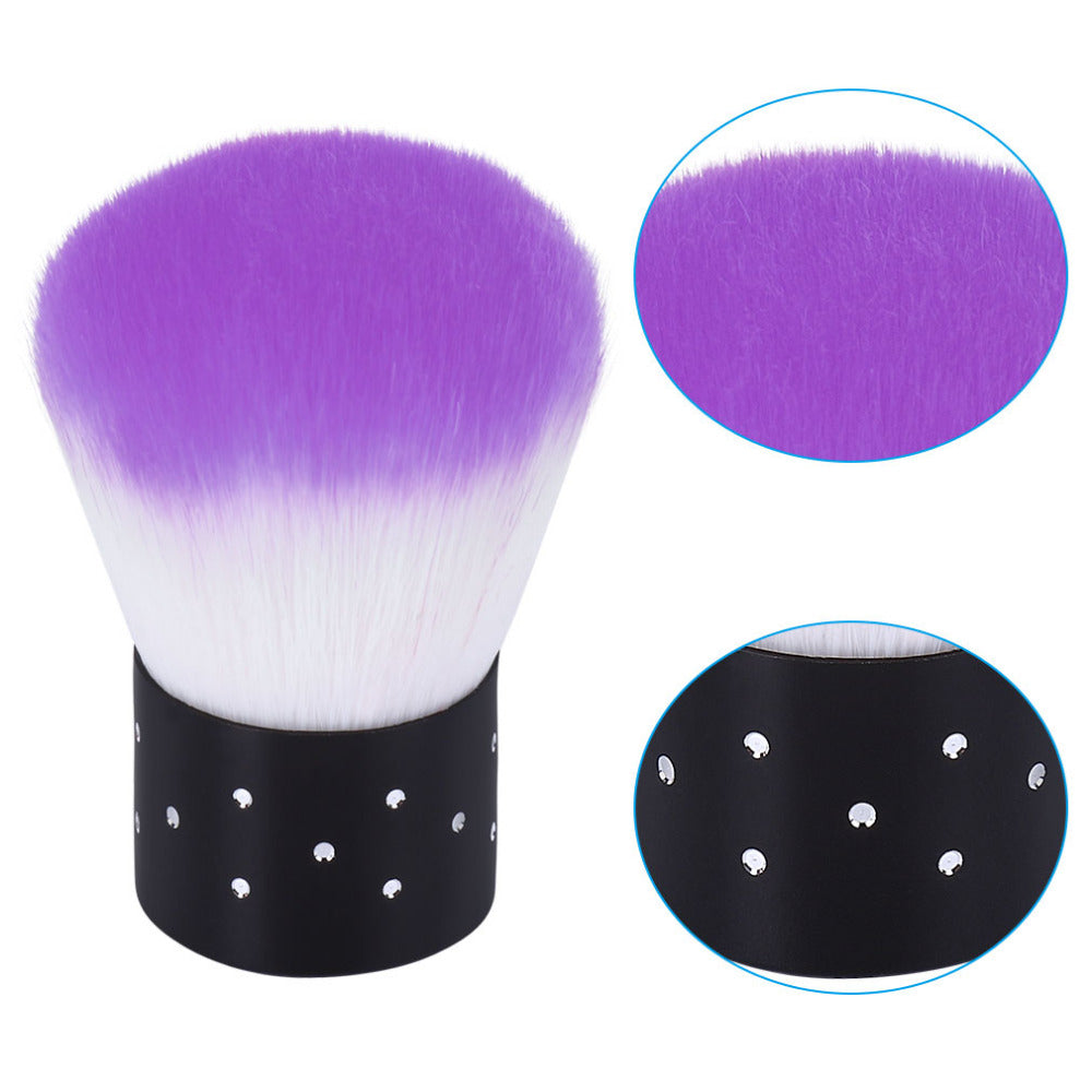 Elite99 Nail Tools Brush For Acrylic & UV Gel Nail Art Dust Clean Brush  Manicure Pedicure Tool Pink Blue Purple Yellow Rose Red
