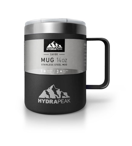 14oz Savor Mug - Black