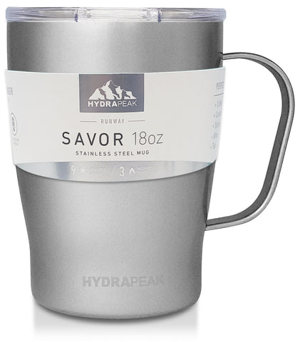 18oz Savor Mug  - Enchanted Grey