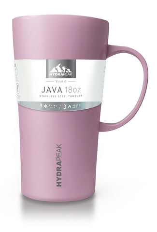 18oz Savor Java- Pink