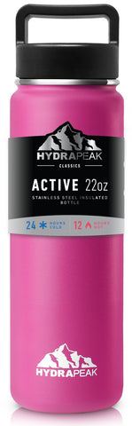 22oz Bottle - Hot Pink