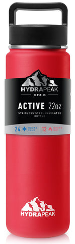 22oz Bottle - Red