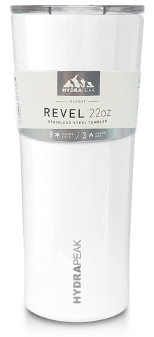 22oz Revel Tumbler - White
