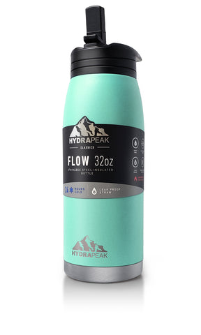 32oz Flow Bottle - Aqua