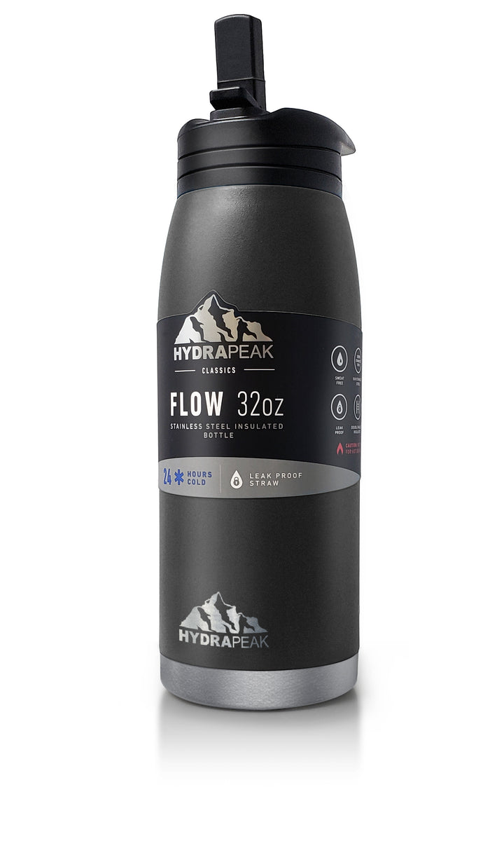 32oz Flow Bottle - Black