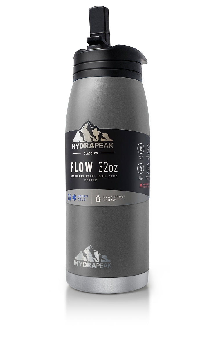 32oz Flow Bottle - Graphite