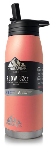32oz Flow Bottle - Peach